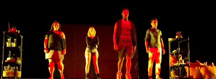 Juliana Parize, Maristela Demarchi, Vladimir Camargo e Edivaldo Zanotti. Foto de Katia Manfredi.